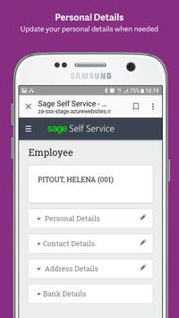 Sage HR & Payroll Self Service screenshot 1