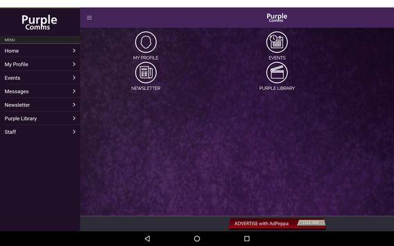 Purple Comms apk screenshot