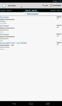 TimeWEB apk screenshot