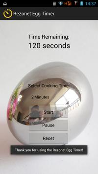 Rezonet Egg Timer screenshot 2