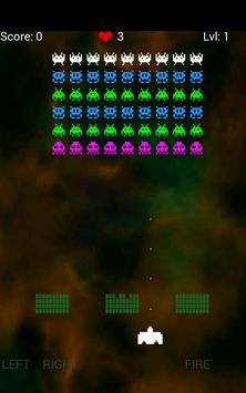 Cosmos Invaders 2017 apk screenshot