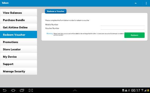Telkom Mobile screenshot 10