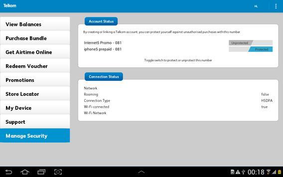 Telkom Mobile screenshot 13