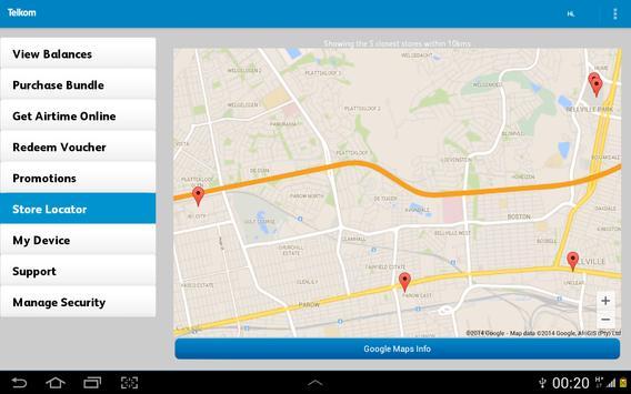 Telkom Mobile screenshot 14