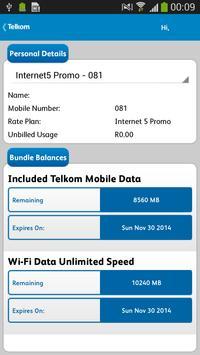 Telkom Mobile screenshot 1