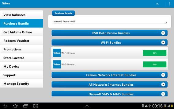 Telkom Mobile screenshot 8