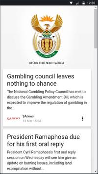South African Government screenshot 1