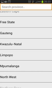 Emergency Numbers South Africa screenshot 1
