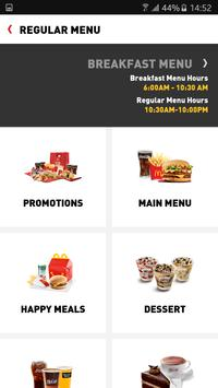 McDelivery South Africa screenshot 1
