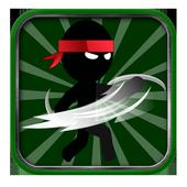 stick ninja hero icon