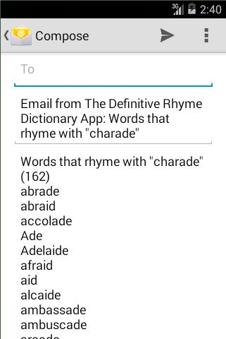 The Rhyme Dictionary for Android - APK Download