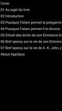 La Polygamie et le Divorce apk screenshot