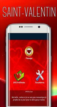 SMS Saint Valentin 2018 poster