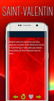 SMS Saint Valentin 2018 screenshot 2