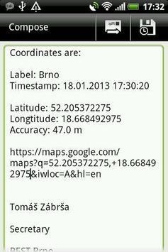 Simple GPS screenshot 3