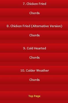 All Songs of Zac Brown Band screenshot 1