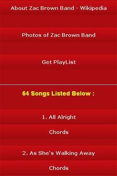 All Songs of Zac Brown Band screenshot 2