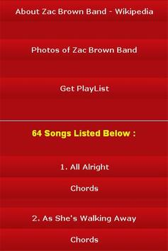 All Songs of Zac Brown Band screenshot 2