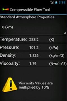Compressible Flow Tool screenshot 1