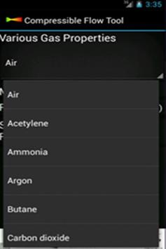 Compressible Flow Tool screenshot 2