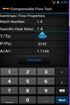 Compressible Flow Tool screenshot 3