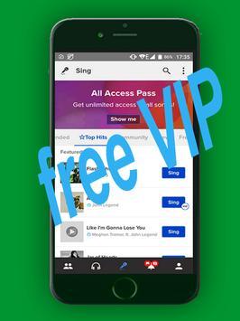 Guide  Smule Karaoke VIP+ free screenshot 1
