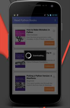 Read Python Books screenshot 3