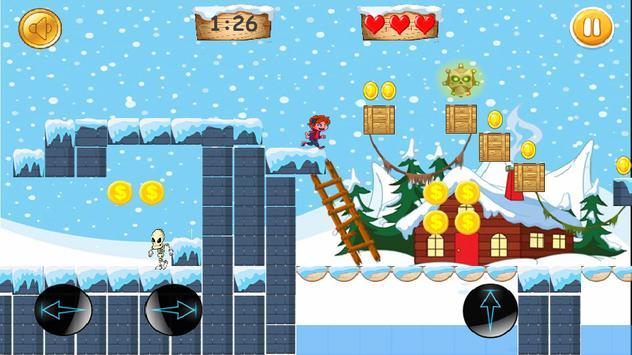 zak Run storm:adventure jump pirats rush kids free poster