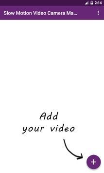 Slow Motion Video Camera Maker apk screenshot