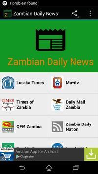 Zambian Daily News poster