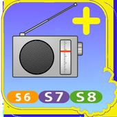 Radio Plus for S6-S7-S8 icon
