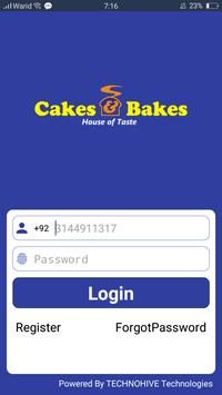 Cakes & Bakes apk screenshot