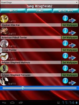 Dog Ringtones and Wallpapers apk screenshot