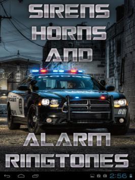 Sirens Horns & Alarm Ringtones poster