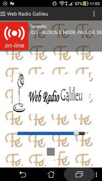 Web Radio Galileu poster