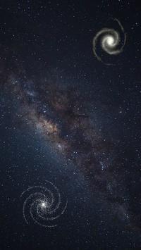 Universe Live Wallpaper poster