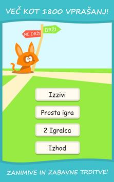 Drži - Ne Drži? Kviz Slovenija apk screenshot