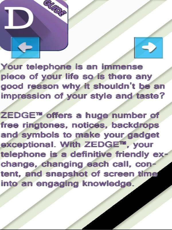 ... Gսіdе fоr zedge tm ringtones and wallpapers free screenshot 5 ...