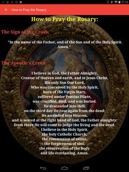 Holy Rosary of the Virgin Mary screenshot 3