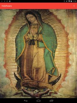 Holy Rosary of the Virgin Mary poster