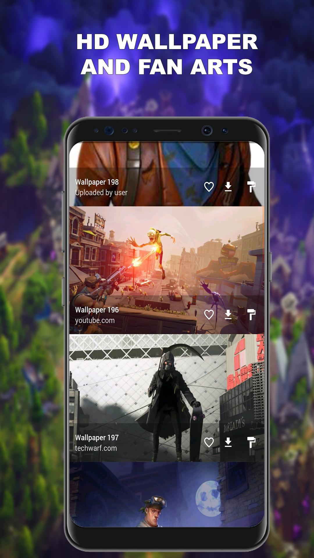 Fortnite Wallpapers Fan Art For Android Apk Download