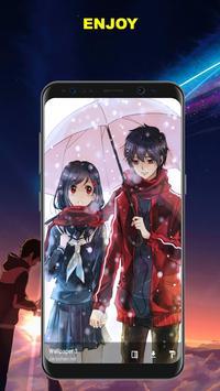 Anime Couple Fan Art Wallpaper 2