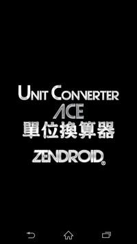 Unit Converter ACE poster