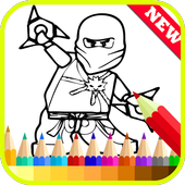 Coloring For Ninjago Fans icon