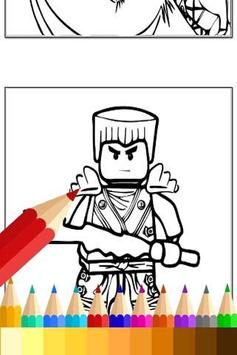 Coloring For Ninjago Fans apk screenshot