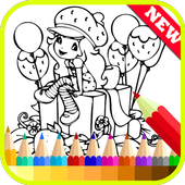 Coloring Little Girls Charmers icon