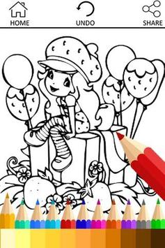 Coloring Little Girls Charmers poster