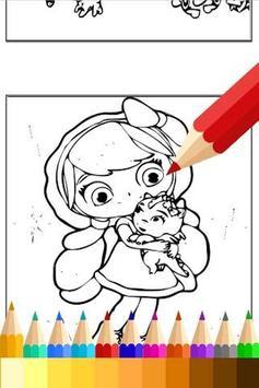 Coloring Little Girls Charmers screenshot 1