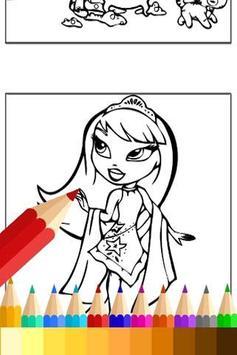 Coloring Little Girls Charmers screenshot 3