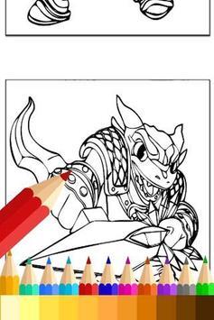 Coloring For Skylanders Fans apk screenshot